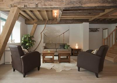 La Tranquillité  Balkenplafond